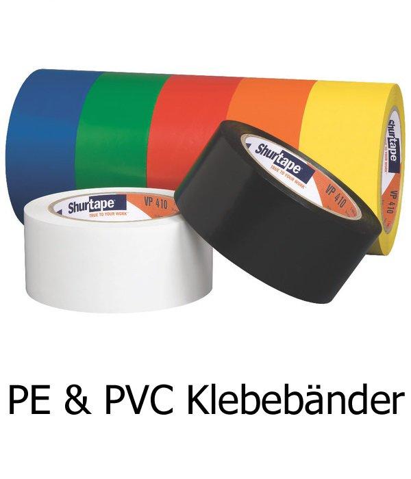 PE & PVC Klebebänder