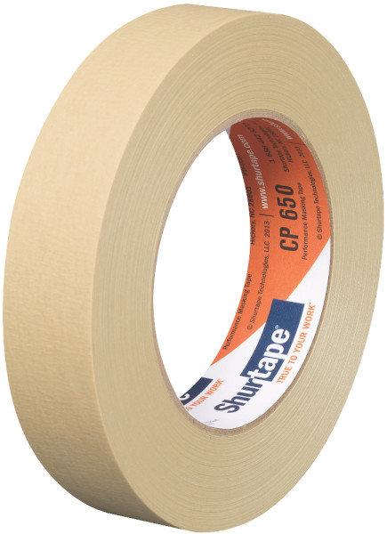 Shurtape CP 650 Masking Tape beige 24mm x 55m