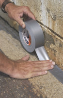 Shurtape PC 618 Cloth Duct Tape silver 48mm x 55m