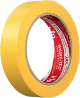 Kip 3308-24 WASHI-TEC Premium Plus Tape gelb 24mm x 50m
