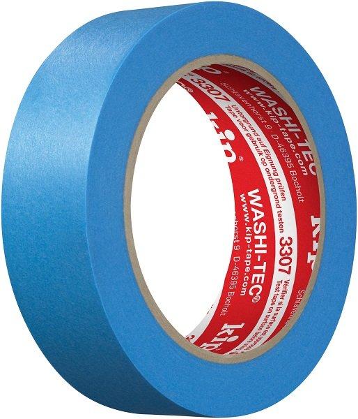 Kip 3307-30 WASHI-TEC Tape blue 30mm x 50m