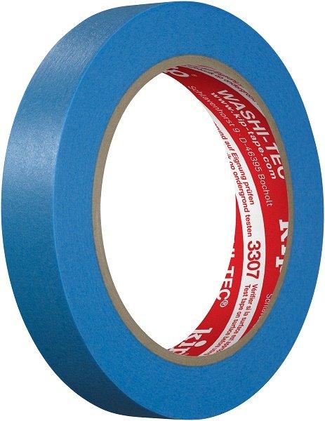 Kip 3307-18 WASHI-TEC Tape blau 18mm x 50m