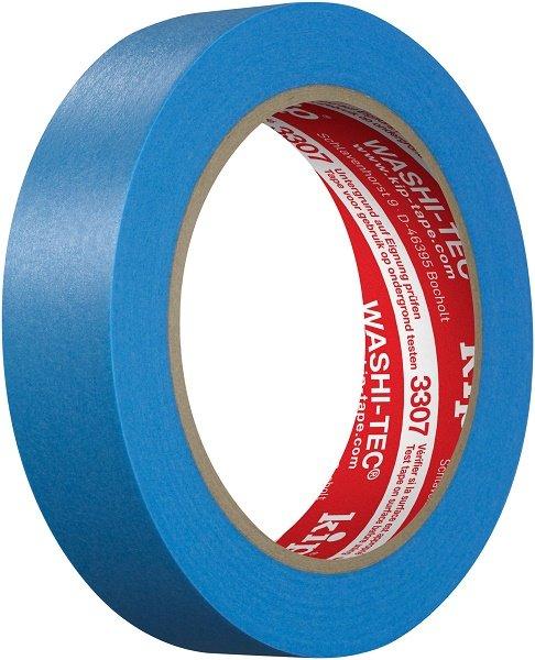 Kip 3307-24 WASHI-TEC Tape blue 24mm x 50m