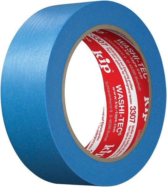 Kip 3307-36 WASHI-TEC Tape blue 36mm x 50m