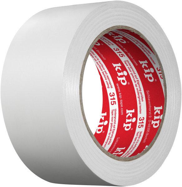 Kip 315-55 PVC Schutzband weiß 50mm x 33m