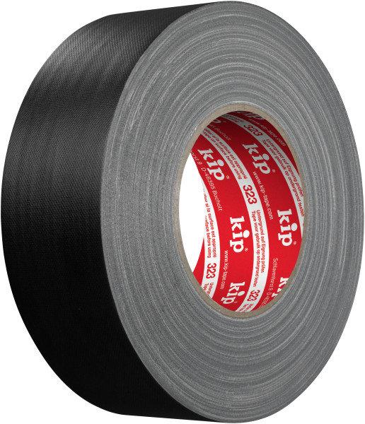 Kip 323-85 Gaffers Gewebeband schwarz matt 50mm x 50m
