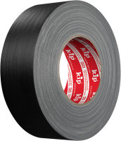 Kip 323-85 Cloth Gaffers Tape black matte 50mm x 50m