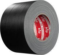 Kip 323-10 Gaffers Gewebeband schwarz matt 100mm x 50m