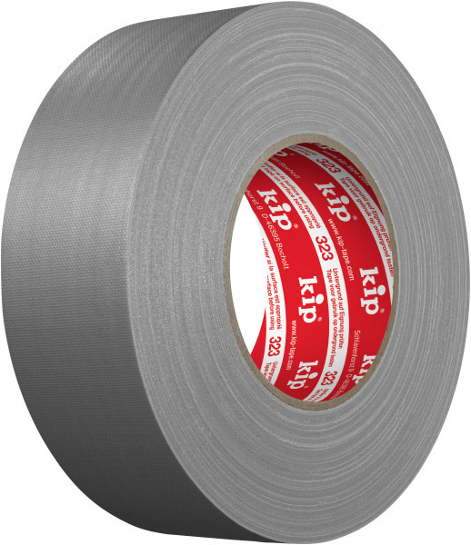 Kip 323-45 Gaffers Gewebeband grau matt 50mm x 50m