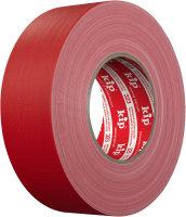 Kip 323-75 Cloth Gaffers Tape red matte 50mm x 50m