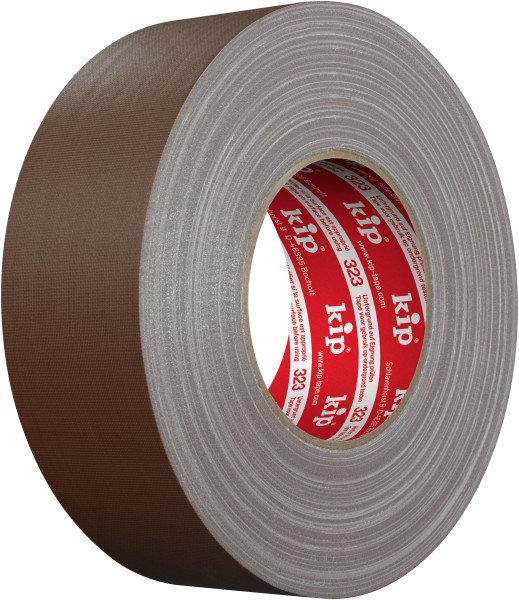 Kip 323-76 Gaffers Gewebeband braun matt 50mm x 50m