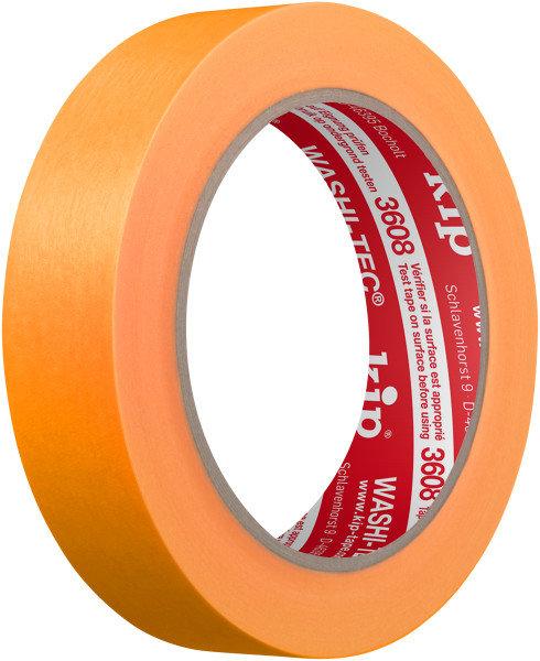 Kip 3608-24 WASHI-TEC Tape orange 24mm x 50m