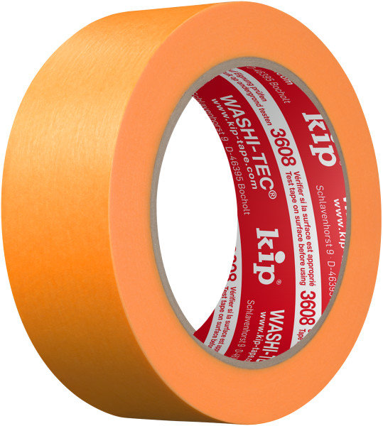 Kip 3608-36 WASHI-TEC Tape orange 36mm x 50m