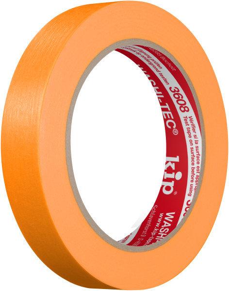 Kip 3608-18 WASHI-TEC Tape orange 18mm x 50m