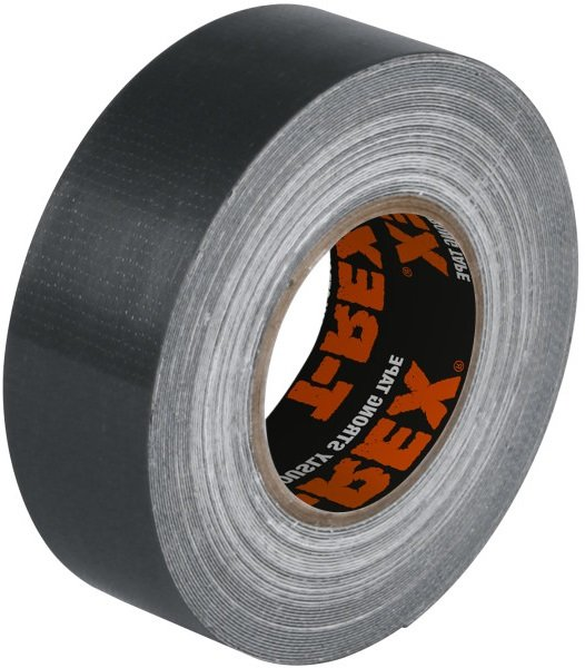 T-REX Gewebeband silber 25mm x 9,1m