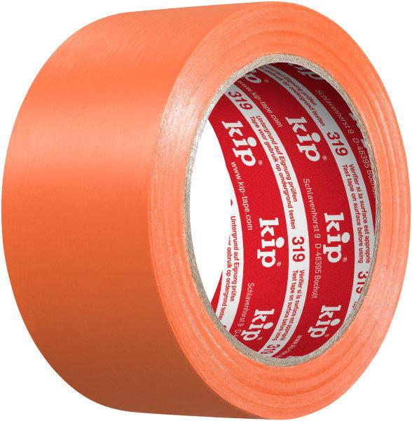 Kip 319-65 PE Protective Tape orange 50mm x 33m