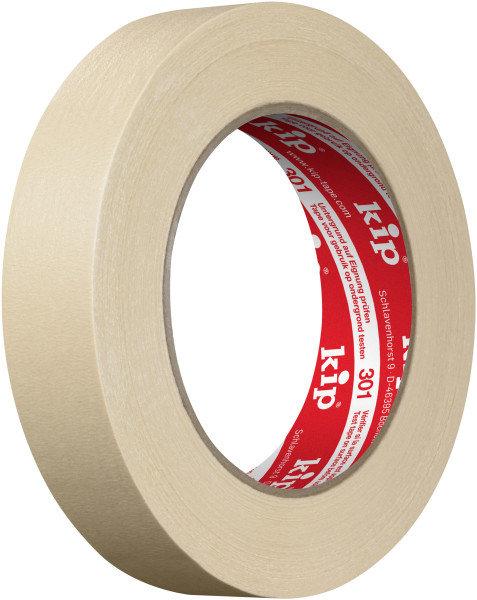 Kip 301-24 Masking Tape beige 24mm x 50m