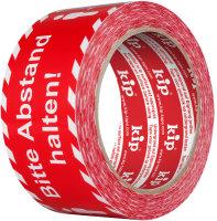 "Kip 339-50 PVC Warning Tape ""Abstand halten""..."