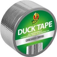 Duck Tape 100-37 Gewebeband Silber 48mm x 9,1m