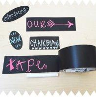 Duck Tape 105-00 Kreidetafel-Klebeband schwarz 48mm x 4,5m