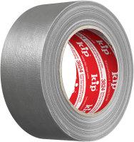 Kip 3824-50 Gewebeband silber 50mm x 50m