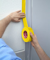Kip 358-44 Beton- und Mauerband gelb 44mm x 50m