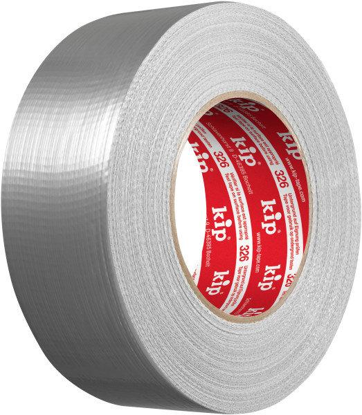 Kip 326-48 Cloth Duct Tape silver 48mm x 50m