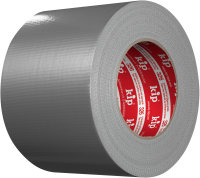 Kip 326-10 Gewebeband silber 100mm x 50m