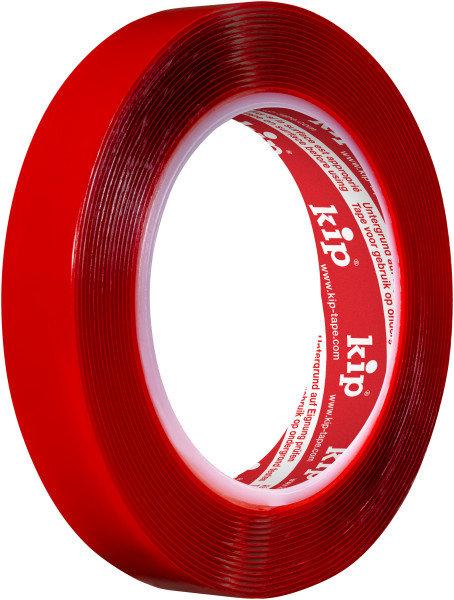 Kip 240-19 Montageband transparent 19mm x 5m