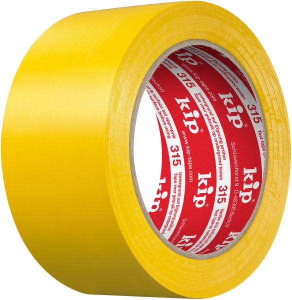 Kip 315-15 PVC Protective Tape yellow 50mm x 33m