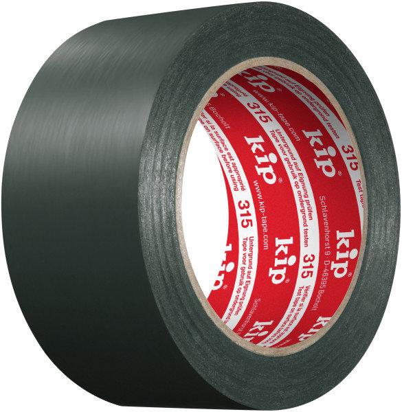 Kip 315-25 PVC Protective Tape green 50mm x 33m