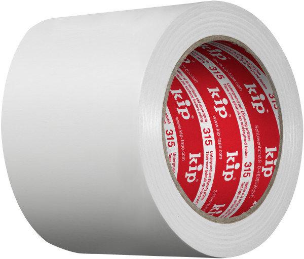 Kip 315-59 PVC Protective Tape white 100mm x 33m