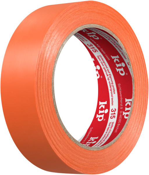Kip 315-63 PVC Protective Tape orange 30mm x 33m