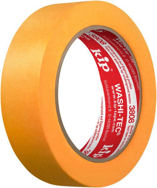 Kip 3808-30 WASHI-TEC Premium Tape orange 30mm x 50m