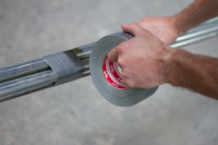 Kip 3824-38 Gewebeband silber 38mm x 50m
