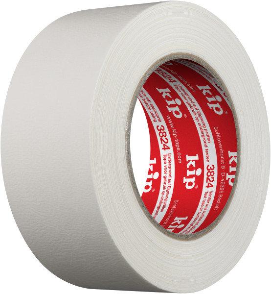 Kip 3824-55 Gewebeband weiß 50mm x 50m