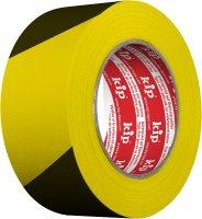 Kip 3824-90 Warning Stripe Duct Tape yellow/black 48mm x 33m