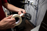 Shurtape CP 105 Kreppband beige 24mm x 55m